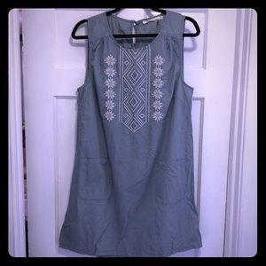 NWT Ellison Chambray Dress